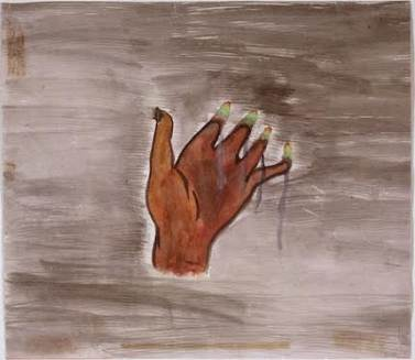 'Melting Hand'  by Akiko Takakura, Hiroshima survivor