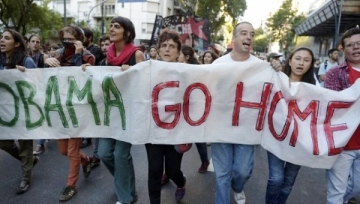 argentina obama go home