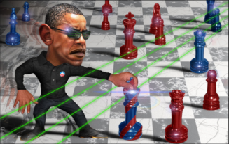 cuba obama chess