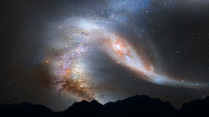 milky-way-andromeda-collision