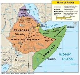Horn-Africa-Map