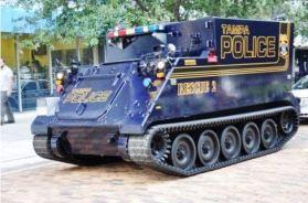 tank on tracks
