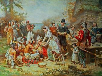 first-thanksgiving-jean-leon-jerome